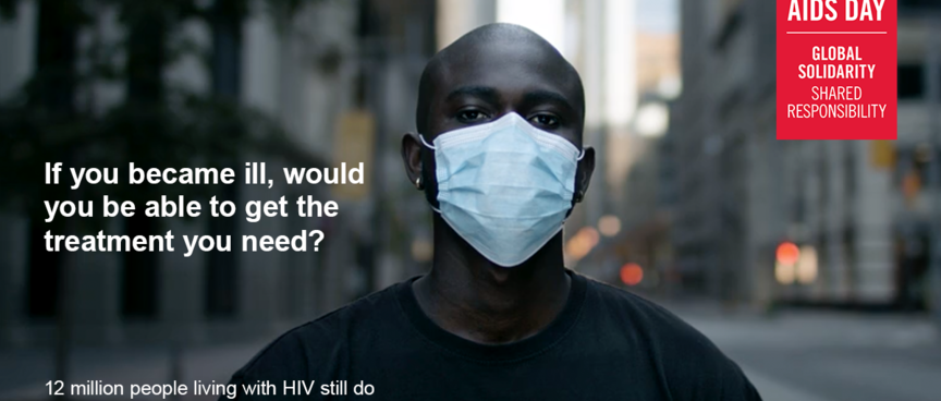 Welt AIDS Tag - Rechte UNAIDS - Verwendung ist erlaubt