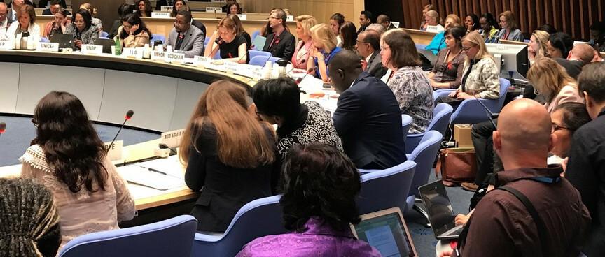PCb Genf Unaids loiz loures Aids Tuberkulose HIV Meeting