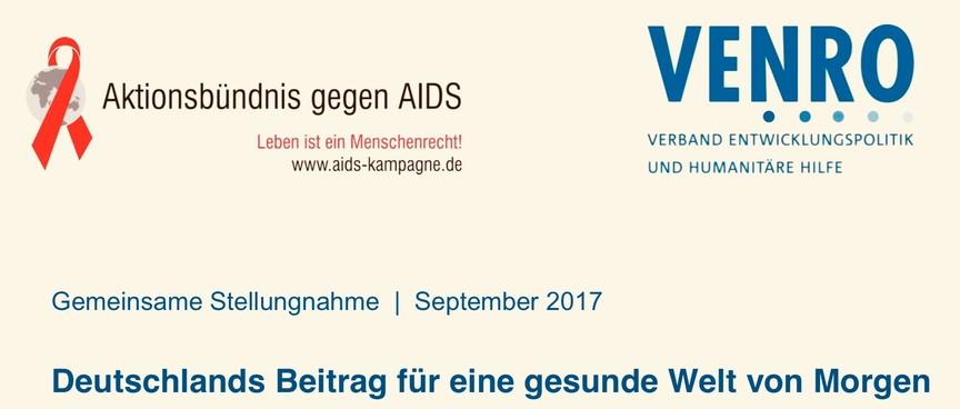 Gemeinsame Stellungnahme September 2017