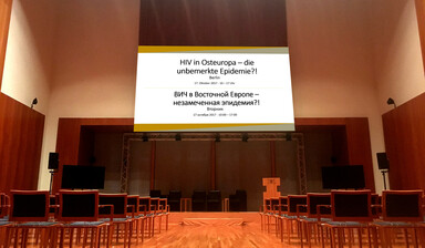 hiv in osteuropa konferenz in Berlin Oktober 2017