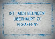 AIDS Kampagne, HIV, Themenkarte, 90-90-90, AIDS beenden, Agenda 2030, Schweden, UNAIDS