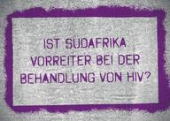 AIDS Kampagne, HIV, Themenkarte, Südafrika, 90-90-90-Ziele, SDG, Weltaidskonferenz