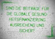 Themenkarte Beiträge zur Globalen Gesundheitsfinanzierung