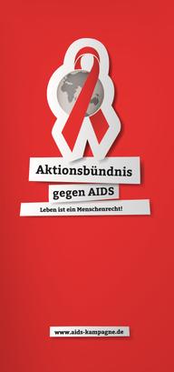 Flyer Aktionsbündnis gegen AIDS