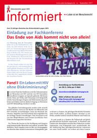 informiert 2017 - Fachkonferenz Osteuropakonferenz AIDSKampagne HIV Aktionsbündnis gegen AIDS