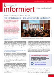 informiert zeitung zeitschrift fachzeitung hiv osteuropa rechtspopulismus afd simbabwe